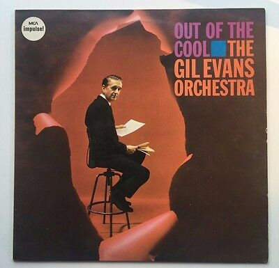 GIL EVANS ORCHESTRA out of the cool VINYL LP - UK / JAS 52 / COOL JAZZ / FUNK