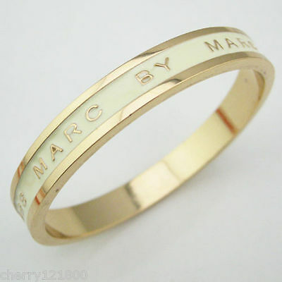 New Fashion Marc By Marc Jacobs 12 Colors Letters Bangle Bracelet