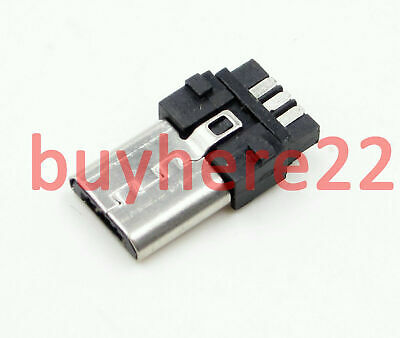 Micro USB 5 Pin T Port Male Plug Socket Connector NEW UK Seller