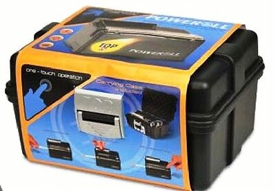Top-O-Matic Poweroll Electric Cigarette Rolling Machine Injector KING SIZE NEW