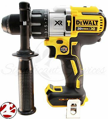 DeWALT DCD996B 20V MAX XR Cordless Li-Ion Brushless 3-Speed 1/2 in. Hammer Drill