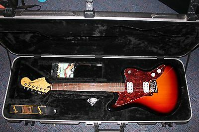 Fender Squier Jagmaster Electric Guitar AS NEW with SKB Case
