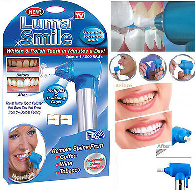 Dental Luma Smile Teeth Whitening & Polish Machine With 5 Polishing Cups