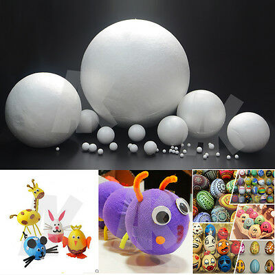 Foam Ball Polystyrene Styrofoam DIY Handmade Decorations XMAS Christmas New