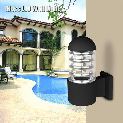 Modern LED Wall Light Sconce Outdoor Wall Lamp Fixture Fitting Waterproof IP65