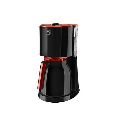 Melitta ENJOY Therm Filter-Kaffeemaschine 93°C Brühtemperatur 1.000 Watt