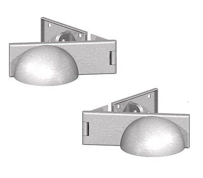 Padlock Protector Cover Hasp And Staple Heavy Duty Galvanised Right or Left Hand