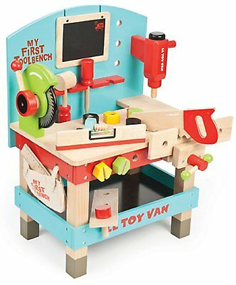 Le Toy Van My First Wooden Tool Bench,  My First Wooden Tool Bench