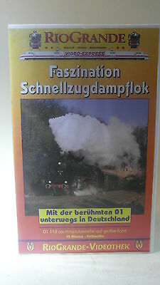 +1 63 Video VHS 01 118 Faszination Schnellzugdampflok