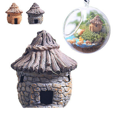 Fairy Garden Miniature Stone House Random Style Craft mini Landscape Decoration