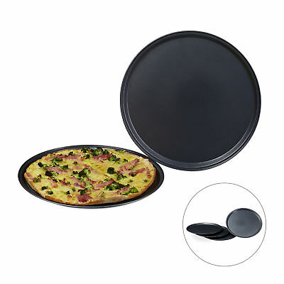 Pizzablech Set, Durchmesser 32 cm, Backbleche, Pizza-Backbleche Backset Bleche