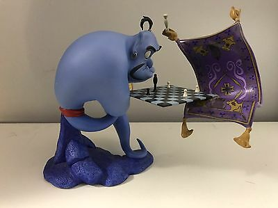 """WDCC Genie """"I'm Losing to a Rug"""" from Aladdin W/ COA, But No Box"""