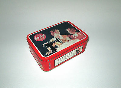 1993 Coke Brand Tin - Seamstress - Drink Coca-Cola Delicious and Refreshing