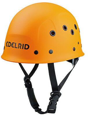 Edelrid Ultralight-Work Orange Kletterhelm, Bergsteigen, Klettersteig