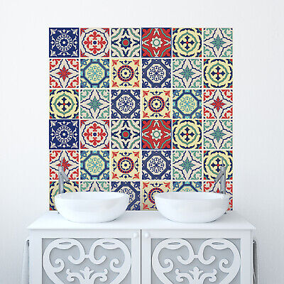 Traditional Tile Stickers Transfers for Kitchen, Bathroom and Furniture DIY