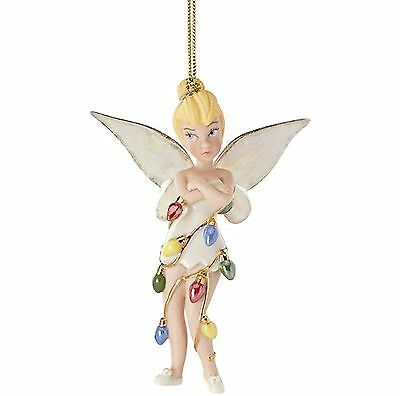 Lenox 2016 Disney's All Wrapped Up Tinker bell Tink Ornament