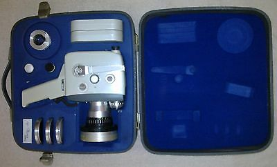 Vintage Agfa Movex Reflex 8mm Movie Camera with case and accessories
