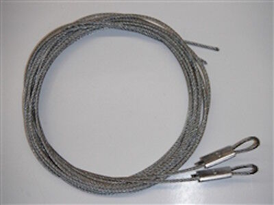 Genuine Wayne Dalton Torquemaster Cable Set Use For Up To 8' Tall Doors