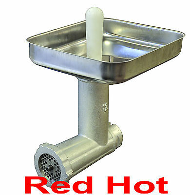 Fma Omcan #12 Meat Grinder  Attachment Fits  #12 Hub For Hobart Mixers 10051