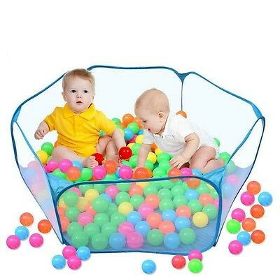 100 X Boy Girl Baby Kid Toy Swim Pit Toy Colorful Ball Plastic Ocean Balls 5.5cm