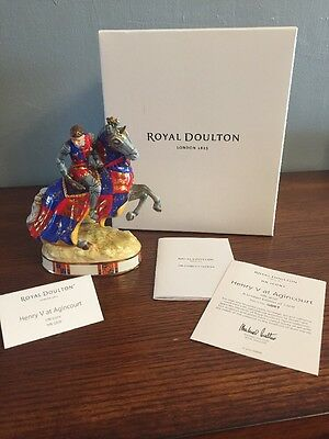 NWT Royal Doulton Henry V at Agincourt HN 5656 Ltd. Ed. HN Icons Collection
