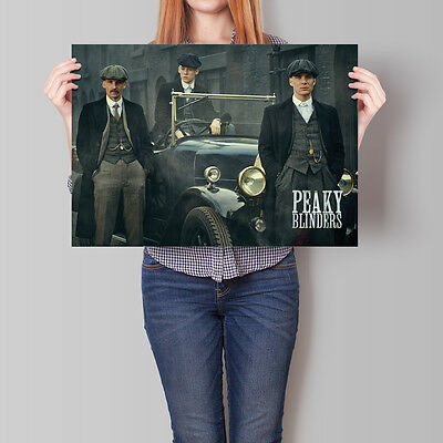 Peaky Blinders Poster TV Series Cillian Murphy Joe Cole Paul Anderson A2 A3 A4