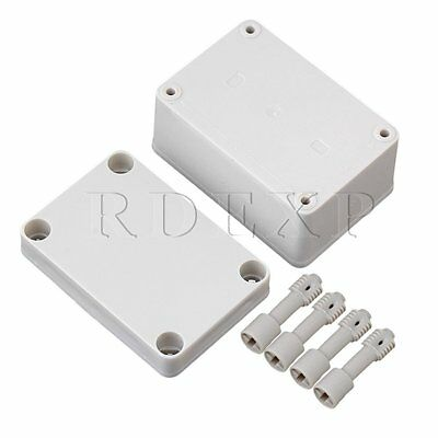 Waterproof Outdoor Plastic 95x65x55mm Electrical Junction Project Box