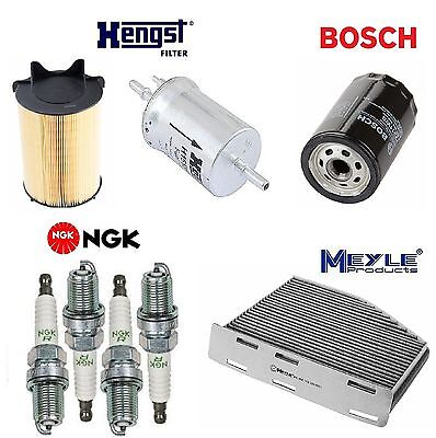 tune up kit air fuel oil filters spark plugs for volkswagen jetta 2 0l 2011-