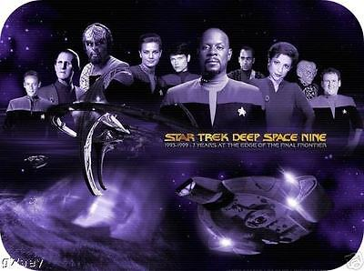 Star Trek Deep Space Nine Mouse mat Sisko 1