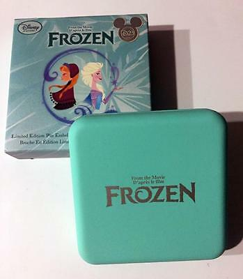 Frozen Limited Edition Elsa Pin Swarovski Disney D23 Le 700