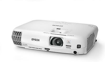Epson EB-W16 3D LCD Business Projector 3000 Lumens WXGA 1280 x 800 Retail Boxed