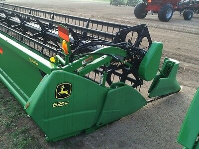 2012 John Deere 635F Headers