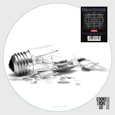 "DREAM THEATER Illumination Theory Picture Disc Vinyl 12"" RSD 2014 NEW"