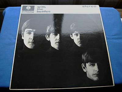 WITH THE BEATLES - ORIGINAL  STEREO from 1963  - UK LP Y/B  EX+ /EX+
