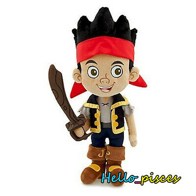 Disney Store Toy Story Jake Captain and the Never Land Pirates Plush Toy Doll