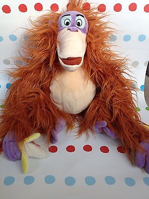 Disney King Louie Large Monkey With Banana The Jungle Book , Soft Toy,