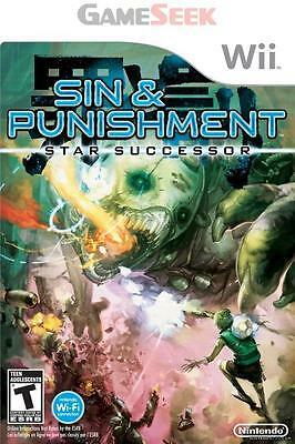 Sin And Punishment 2 - Successor Of The Skies - Nintendo Wii Brand New