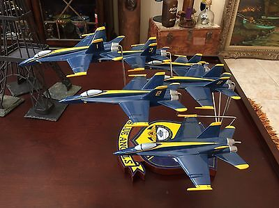 Pacific Aircraft Collector's Series:  6 - Navy Blue Angels Jets Flying Together