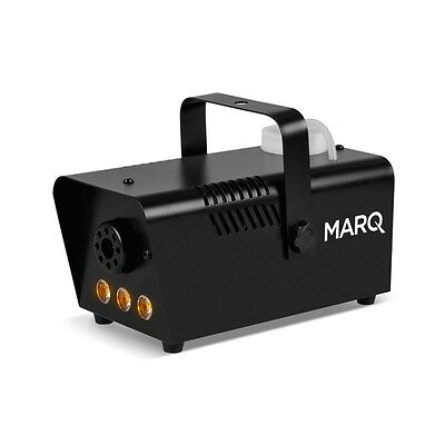 Marq Fog 400 LED Halloween Party Smoke Effects Machine with LED Lights - Black