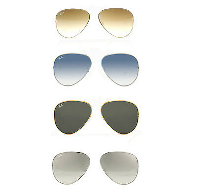Ray Ban AVIATOR coppia lenti di ricambio RB3025 RB3030 replacement lenses