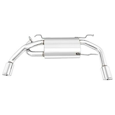 Mazda Mx5 MK2-2.5 Exhaust Silencer Stainless Steel - Cobalt - Dual Exit