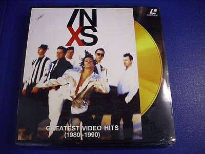 Inxs Greatest Video Hits 1980 1990 Laser Disc Ld New