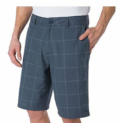 NEW O'Neill Men's Plaid Flat Front Shorts - VARIETY