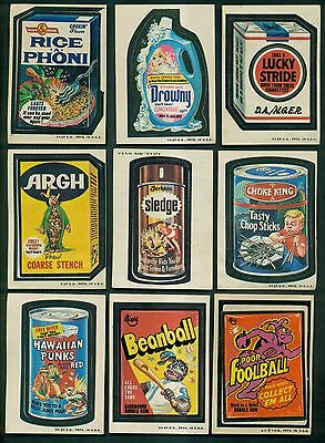 1973 Wacky Packages Series #3 Stickers Group of 23(22 diff.)
