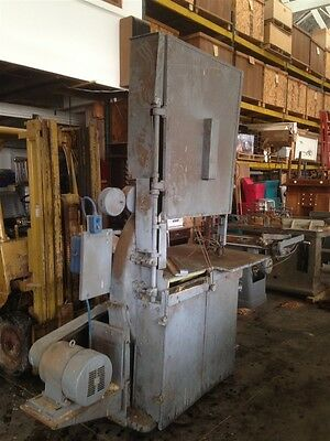 "36"" Fay and Eagan 3 Phase Band Saw"