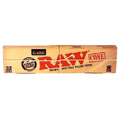 Pre-Rolled RAW Classic Cones Rolling Papers King Size USA Wholesaler lot NEW
