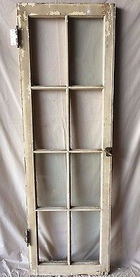Individual Antique Cabinet Pantry Cupboard Casement Door Window 8 Lite 1816-16