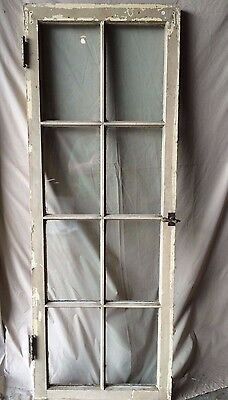 Individual Antique Cabinet Pantry Cupboard Casement Door Window 8 Lite 1817-16