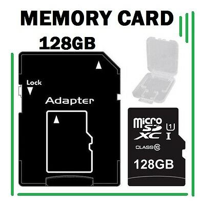 128GB Universal Micro SD XC Flash Memory Card With TF Free Adapter Class 10 SDXC