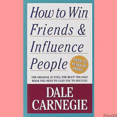How to Win Friends and Influence People (Dale Carnegie; Paperbck; NEW) Fast Free